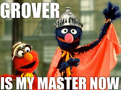 grover is my master now