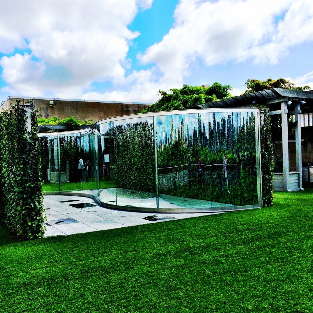 The Met roof garden