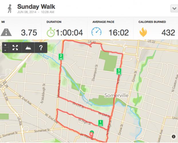 a long walk