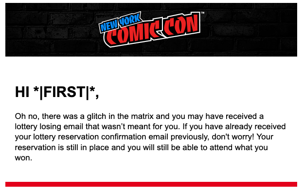 almost NYCC